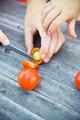 child harvest fresh bio tomato