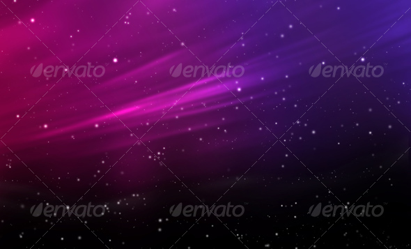 GraphicRiver Venera Night Sky Abstract Background 50357