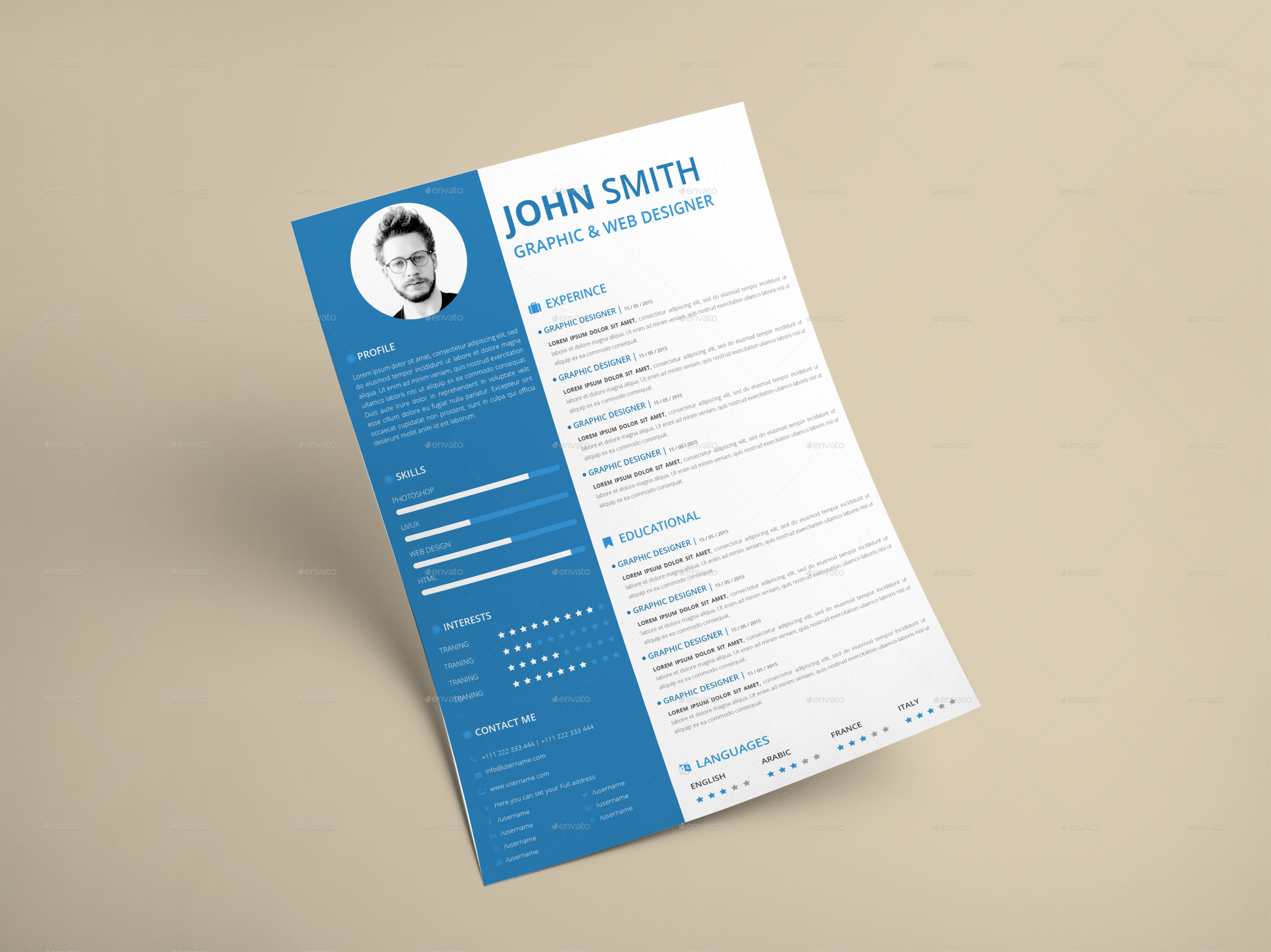 Clean Resume TemplateBest Business Templates Best Business