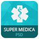 Super Medica | Multipage Medical PSD Template