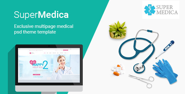 Super Medica   Multipage Medical PSD Template