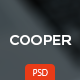Cooper - Corporate PSD Template - ThemeForest Item for Sale