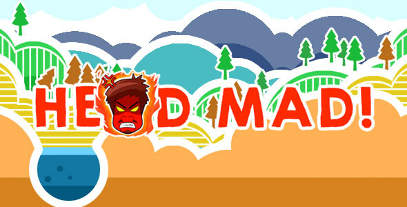 Head Mad - Touch Arcade Game HTML5