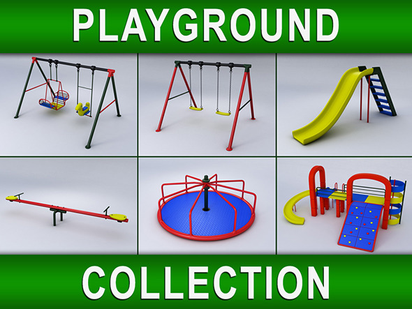 Playground Collection - 3DOcean Item for Sale