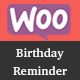 WooCommerce BirthdayReminder