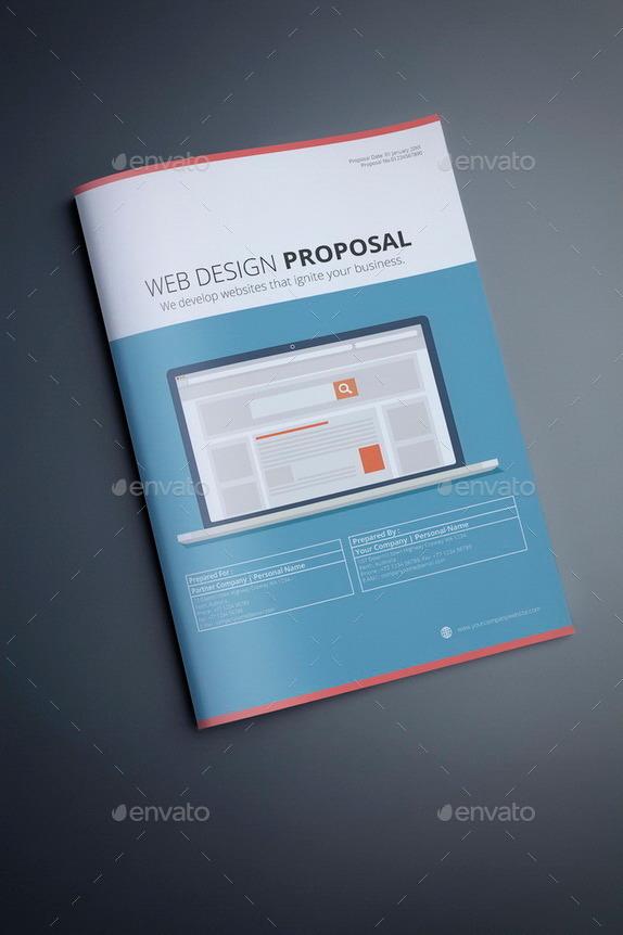 Web Design Proposal Template by terusawa – Web Design Proposal Template Word