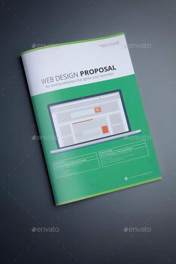Web Design Proposal Template by terusawa – Web Design Proposal Template