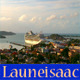 Cruise Ship in Island Port - VideoHive Item for Sale