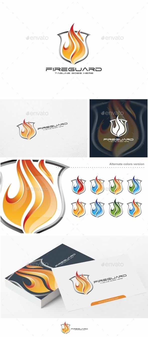 Fire Guard - Logo Template