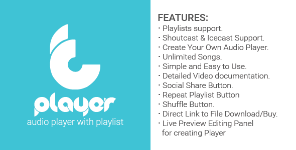 tPlayer - audio player (with playlist) v1.4