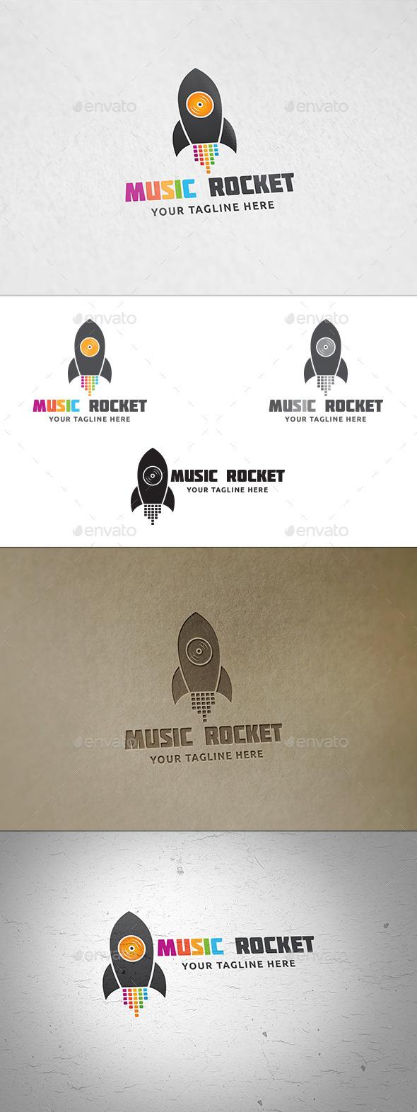 Music Rocket Logo