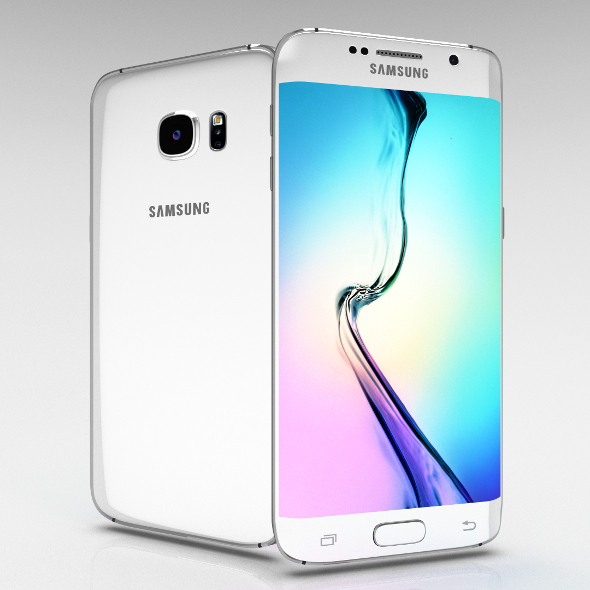 Samsung Galaxy S6 Edge+ White Pearl - 3DOcean Item for Sale