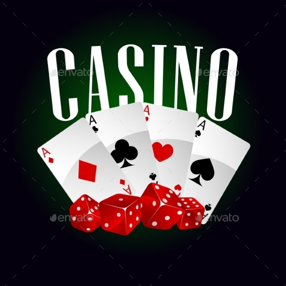 Casino Dice And Poker Cards