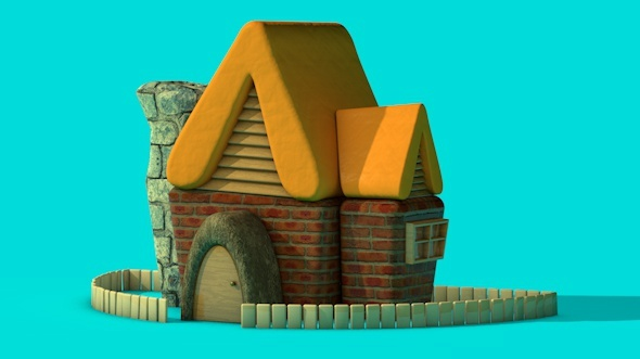 Funky House  - 3DOcean Item for Sale