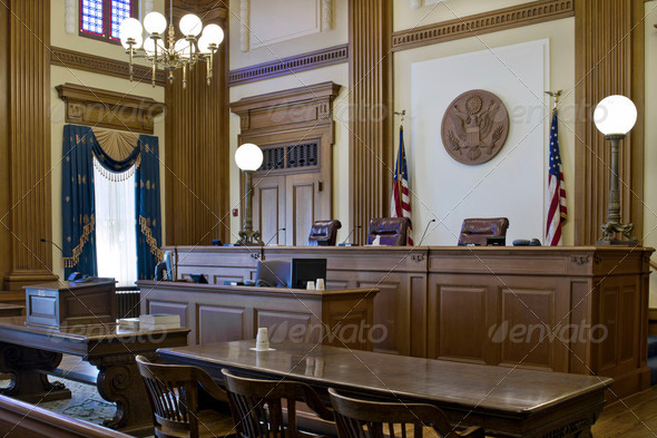 Stock Photo - PhotoDune Court of Appeals Courtroom 2 1256748
