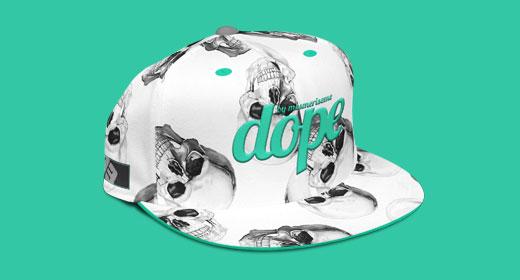Caps Mock-ups