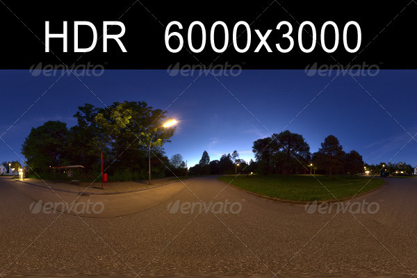3DOcean Night HDR Environment 1256834