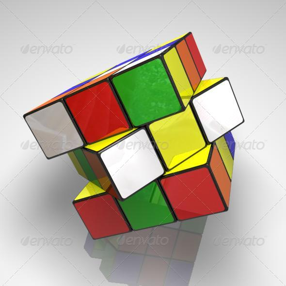 3DOcean Cubic rubic 151973