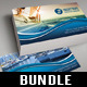 3 in 1 Yacht Sailing Business Card Bundle