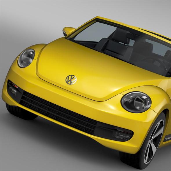 VW Beetle Targa 2016 - 3DOcean Item for Sale