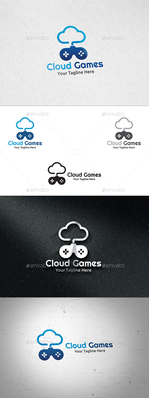 Cloud Games Logo