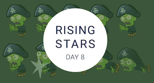Rising Stars Day #8