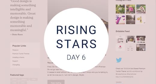 Rising Stars Day #6