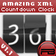 AMAZING XML COUNTDOWN / COUNTER / CLOCK - ActiveDen Item for Sale