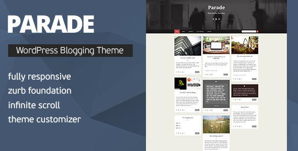 Parade - WordPress Blogging Theme