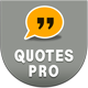 Quotes Pro With Material Design