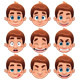 Boy Expressions.  - GraphicRiver Item for Sale