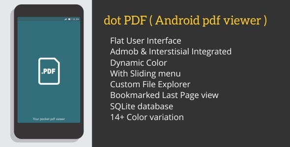 dot PDF ( android PDF Viewer With admob )