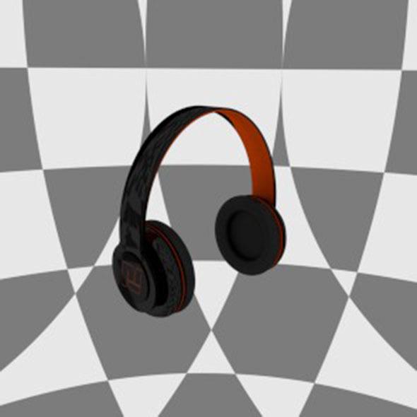 Nitro3D Headphones - 3DOcean Item for Sale