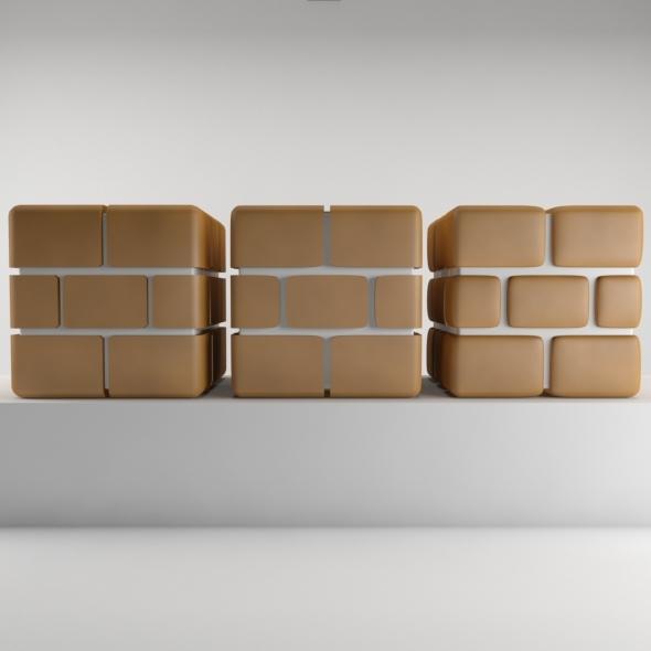 Mario Brick - 3DOcean Item for Sale