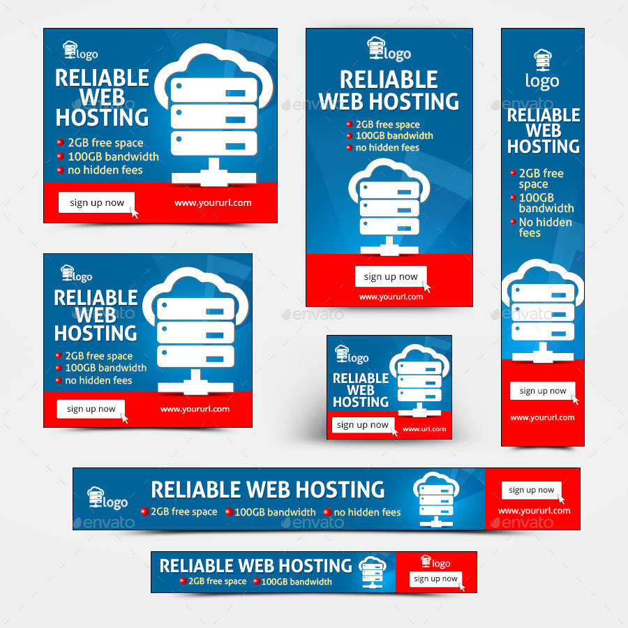 Free web hosting no banner - Web Hosting Banners By Doto Graphicriver