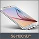 Smartphone s6 Mock-up