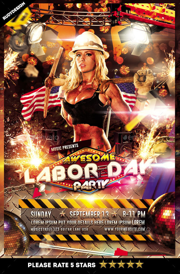 Labor Day Event Flyer Templates from GraphicRiver (Page 2)