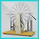 Highpoly 3d Model of Electrostatic Machine