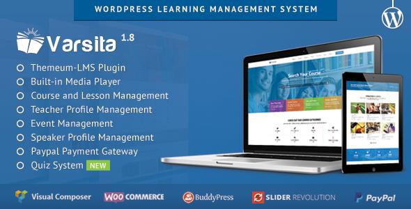 Las 5 mejores plantillas Wordpress para hacer E-Learning (con sistema de gestión incluido) 7