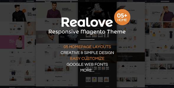 Realove - Responsive Magento Fashion Theme