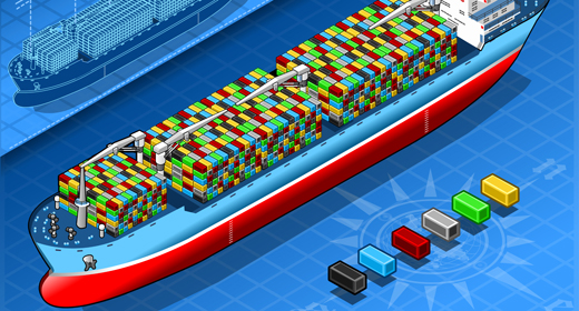 Ship Boat Naval 3D Isometric Vector Mega Collection