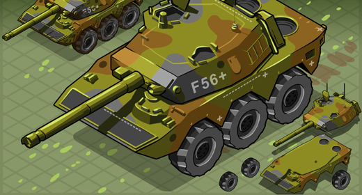 Military War Games 3D Isometric Vector Mega Collection