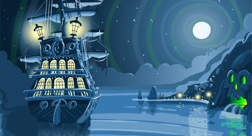 Pirate Ship and much more Vector Collection