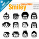 Smiley Characters - GraphicRiver Item for Sale