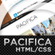 Pacifica (HTML) - A Premium Portfolio Template - ThemeForest Item for Sale