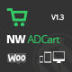 WooCommerce Ajax Drop Down Cart
