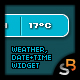 Weather Date & Time Widget - ActiveDen Item for Sale