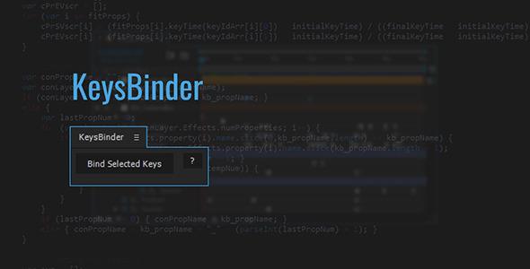 KeysBinder | After Effects Script