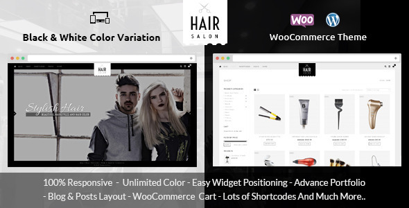 Download Hair Salon - WooCommerce Responsive Theme nulled download