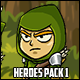 Action Characters Heroes Pack 1